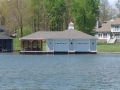 Enclosed Boathouse